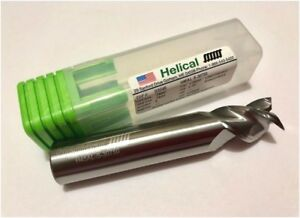 New Helical Edp 03645 Carbide End Mill 3 4 Dia 3 Fl Loc 1 Oal 4 Uncoated