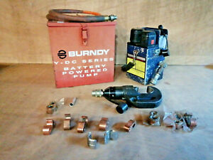Burndy Y700dc 1 10000psi 12v Battery Powered Hydraulic Pump With Crimping Head