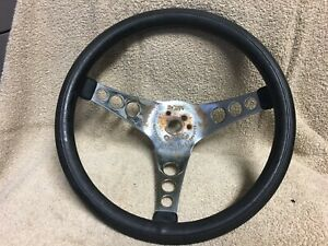 Used Superior Performance Products 500 Steering Wheel 12in Black chrome