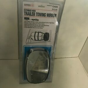 U Haul Extended View Trailer Towing Mirror
