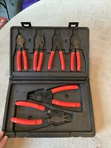 Matco Mst690 6pc Combination Internal External Snap Ring Pliers Set