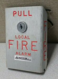Notifier Bng 1 Fire Alarm Pull Station