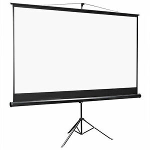 100 Inch 16 9 Projector Projection Screen With Stand Home Theater Movie