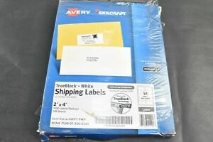 2 Avery 5163 Shipping Mailing Labels Laser 2 X 4 125 Sheet