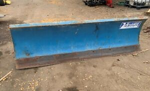 Used 7 5 Foot Northman Snowplow Blue Includes Hardware Wiring And Pump