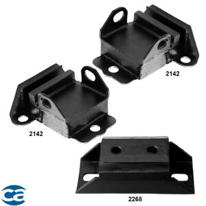 Engine Motor Mounts Trans Mount For Chevrolet Impala Caprice El Camino