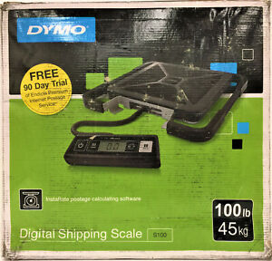 Dymo S100 Portable Digital Usb Shipping Scale 100 Lb