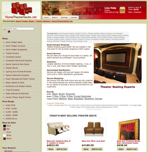 Established Drop Ship Theater Website That Has Generated Thousands In Revenue
