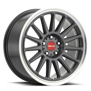New Set Of 4 Raceline Wheels Grip 18x8 5 5x120 45 Gunmetal