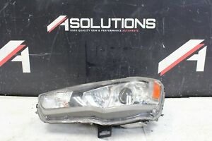 2008 2015 Mitsubishi Lancer Evolution Evo 10 X Left Driver Headlight Hid Oem