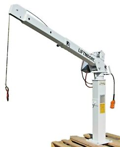 Liftmoore L21 2000 Lbs Truck Auto Crane Lift Hoist 12v 5 Ft Telescopic Boom