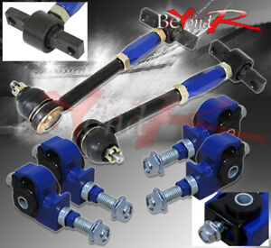 For 90 97 Accord Front Rear Camber Kit Adjustable Suspension Traction Tracking