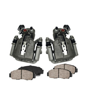 Rear Brake Calipers And Pads For 1994 1995 2004 Mustang Cobra Mach 1 Bullit