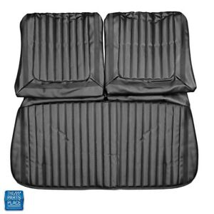 1969 Skylark Front Bench Without Arm Rest Seat Cover Black 116