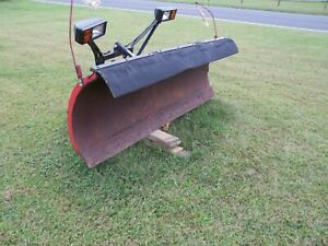 Western Snow Plow 7 6 Untested Pro 60381 Come Look