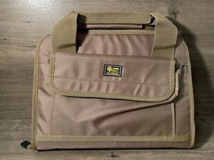 Target Sports Tactical Tan Dual Pistol Case with Magazine Pouches $12.99