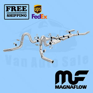 Exhaust System Kit Magnaflow For Chevrolet Chevelle 1968 1973