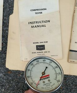 Penske Sears Compression Tester Model 244 2149 S b4