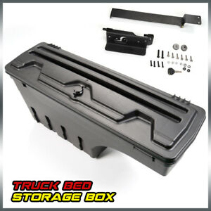 For 2002 2018 Ram Dodge Ram 1500 2500 3500 Rear Left Abs Storage Box Truck Bed