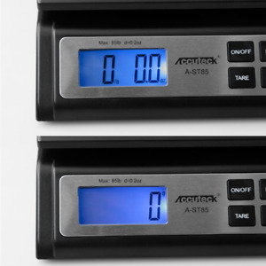 Accuteck Heavy Duty Postal Shipping Scale With Extra Large Display Batteries Ac
