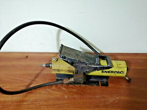Enerpac Pa 133 10000 Psi Cap Air Powered Hydraulic Pump With Hose