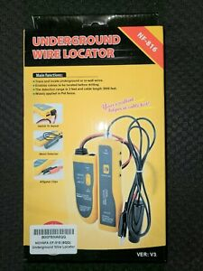 Noyafa Nf 816 c Underground Cable Wire Locator Locate Pet Fence Wires More