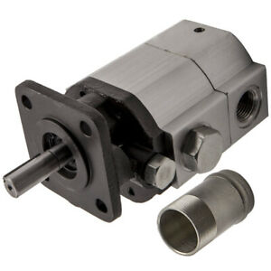 New 11gpm Hydraulic Log Splitter Pump Front back 2 Stage High Low Gear Pump