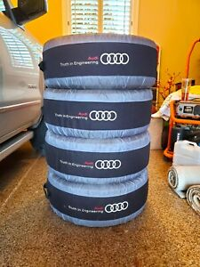 4 Dunlop Sp Winter Sport 3d 265 40r20 104v Ao Audi Snow Tires With Covers