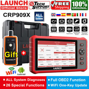 Launch X431 Pro Crp909x Full System Diagnostic Tool Obd2 Code Reader Key Coding