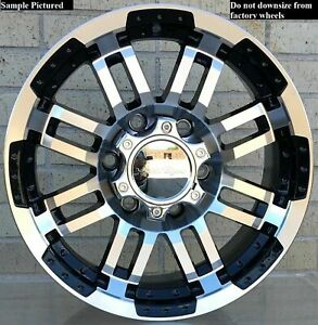 4 Wheels Rims 16 Inch For 2006 2007 2008 2009 2010 Hummer H3 601