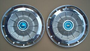1962 Chevy Impala 14 Wheel Covers Hubcaps Lot Of 4