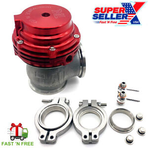 Mvs 38mm External Turbo Wastegate Red Fits Tial Springs Flange 22psi Usa