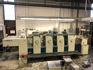 Komori L426 Sheet fed Offset Printing Press 20x26