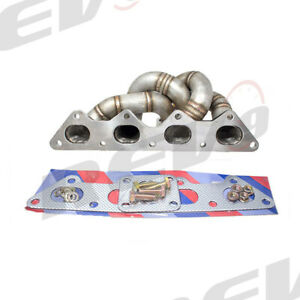 Rev9 Hp Series Equal Length Turbo Manifold For Eclipse 4g63 Gst Gsx Eagle Talon
