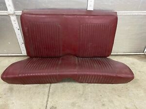 1968 Ford Mustang 2dr Coupe Rear Seats Upper Lower Oem Also Fits 1965 1966 1967