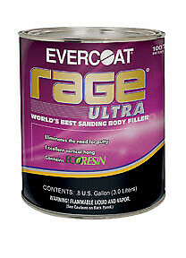 Rage Ultra Sanding Body Filler Gallon Fib 125
