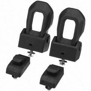 Front Pair Left Right Hood Latch Catch Bracket For Jeep Wrangler Jl 2019 21
