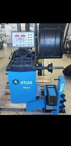 Atlas Wb49 2 Wheel Balancing Machine With Attachments