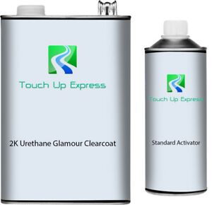 Gallon 2k Urethane Glamour Clearcoat With Standard Activator