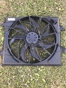 2011 2017 Jeep Grand Cherokee Dodge Durango Cooling Fan 55037992ad Oem