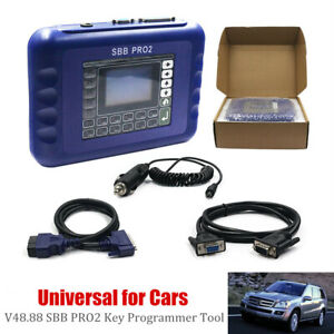 V48 88 Updated Sbb Pro2 Car Key Programmer Tool Fit For Toyota Honda Ford Acura