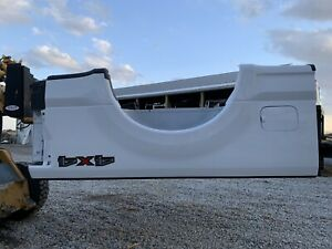 New Take Off 17 21 White Ford Superduty 6 5 Box Super Duty F350 F250 Short Bed