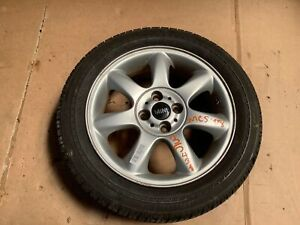 2008 Mini Cooper S R56 1 6l 7 Spoke Wheel Rim Tire Bridgestone 195 55 R16 Oem