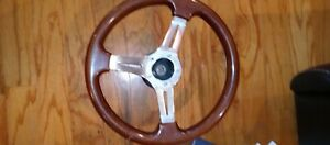 Wooden Steering Wheel