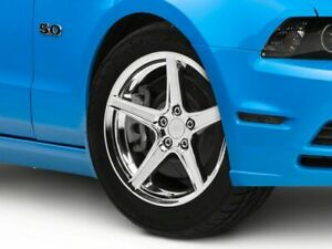 American Muscle Saleen Wheel In Chrome 18x9 Fits Mustang 10 14 Standard Gt V6