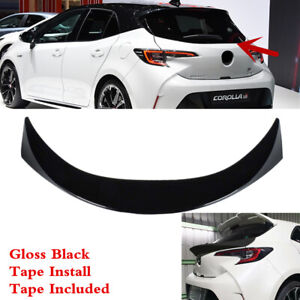 Fit For Toyota Corolla Hatchback 2019 2021 Rear Tailgate Middle Spoiler Wing