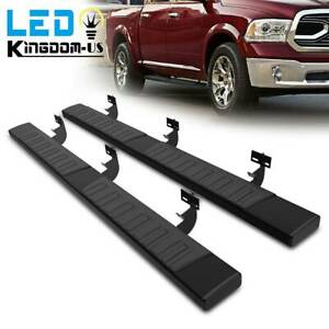 For 2009 2018 Dodge Ram 1500 Quad Cab 6 Running Board Nerf Bars Side Steps Pair