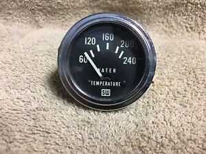 Used Stewart Warner Sw D 311 W S9 Water Temperature Gauge
