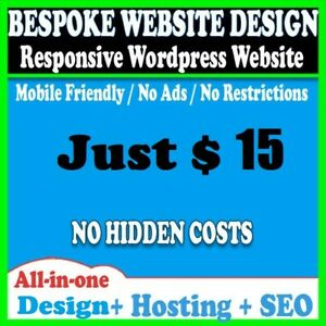 Website Web Design Four Pages Web Site Design Wordpress Free Hosting Seo Mail