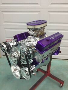 383 Efi Stroker Crate Motor 523hp A C Roller Chevy Turnkey Free Th350 Trans 383